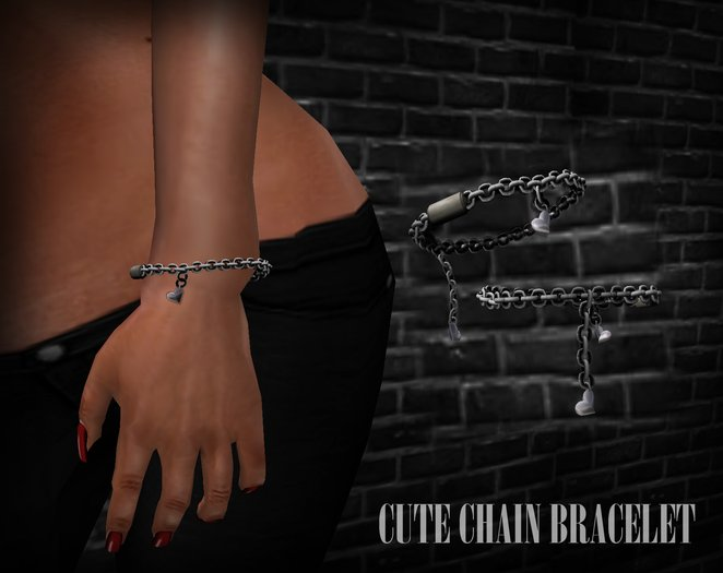dl:: Cute chain bracelet