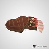 [Commoner] Heart-Shaped Box of Chocolate Pralines