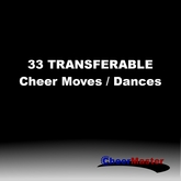 33 Transferable Cheerleading Moves / Dances / Animations