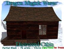 Dragon Magick Wares Distressed Cabin Mesh