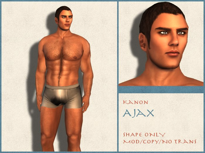 Kanon Male Shape - Ajax