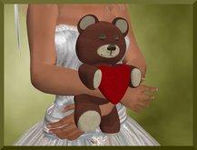 Huggable Valentine Teddy