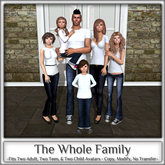 Magnifique - The Whole Family (Family Pose)