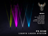PIXLIGHTS FACTORY PX 9100 laser lights system GEN2