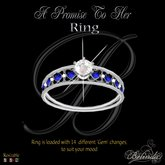 A Promise To Her - Ring - *Silver