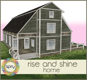 [SPRY] rise and shine home