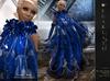 **Soldé/Sale Price** Calisse - Blue -  Dress Gown Formal - Robe