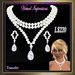 Virtual Impressions, Theresa Gem Set in Pearls and Diamonds