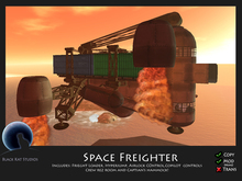 BKS Ships - Space Freighter (BOXED)