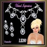 Virtual Impressions Elizabeth Gem Set in Platinum & Diamonds