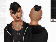 RAW HOUSE :: Destroyer 2 HxC Hair [Blacks]