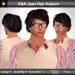 A&A Jean Hair Auburn (Color 3). Modern conservative short wavy men's hairstyle.