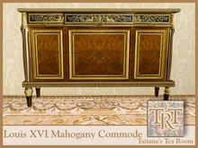 TTR-Louis XVI Mahogany Commode