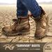 *REDGRAVE* Survivor-Boots Cotton -Camel-