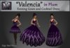 """Valencia"" in Plum"