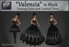 """Valencia"" in Black"
