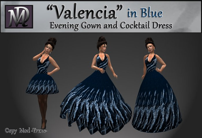 """Valencia"" in Blue"