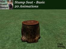 [WHD] -- Stump Seat - Basic