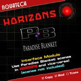 HORIZONS, Paradise Blanket Interface