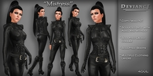* Deviance * - Mistress in Black (Mord-Sith Costume)