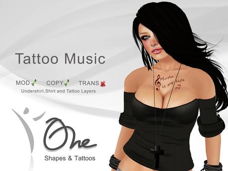 ::One Tattoos:: [Music Tattoo] PROMO
