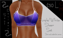 SD Purple Sheer Set