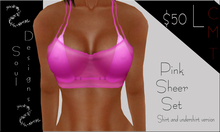 SD Pink Sheer Set