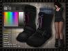Sheena HUD driven boots