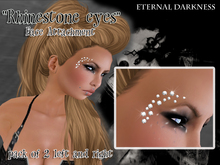 "::ED:: ""Rhinestone eyes"" Face jewels"
