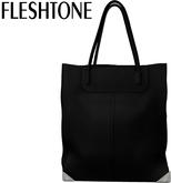 Fleshtone :: Lana Leather Tote [Black]