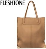 Fleshtone :: Lana Leather Tote [Toffee]