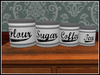 RE Kitchen Canisters Set - One Prim - 4 Tins Decoration