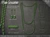 Necklace - Tatiana - Emerald Set