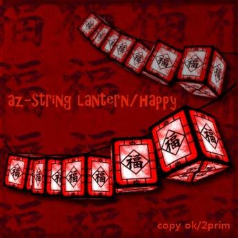 *az*string lantern/happy