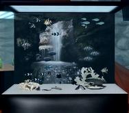 Beautiful Black & White Aquarium