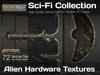 Studio Skye Sci-Fi Textures - 72 Alien Hardware Textures