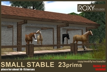 Small Stable 23prims