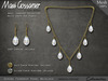 Necklace - Serena Set - White South Sea Pearls