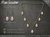 Necklace - Serena Set - Pink South Sea Pearls