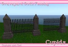 Goth Graveyard fencing