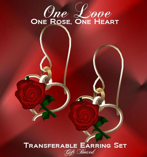 Red Valentine collection \u2022 Red and pink rose heart clay earrings \u2022 1 34\u201dL\u2022 Ready to ship