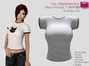 Full Perm Rigged Mesh Female T-Shirt  Builder's Kit