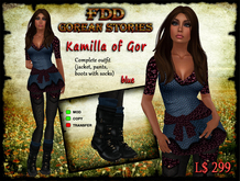 "~FDD GS ""Kamilla"" full outfit blue"
