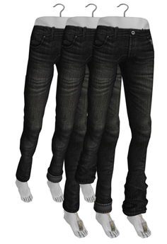 -Entente- Classic Jean - Relaxed - Homme - Black