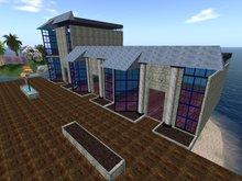Store/Mall Modular Type 2 (Blue 20x16/20) Building Package