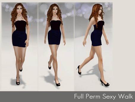 %50SUMMERSALE Full Perm Animation - Female Sexy Walk Cycle Animation