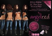 AngelRED - FULL PERM J.C. Paris Jeans