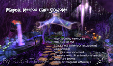 Magical Meeroos Cave - Sky Dome habitat by Ruca Tease