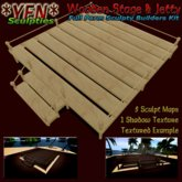 *YEN* Wooden Stage & Jetty (boxed)