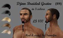 DJINN Braided Goatee(fat Pack)(BOXED)